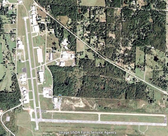 Mena's Airport, Arkansas.