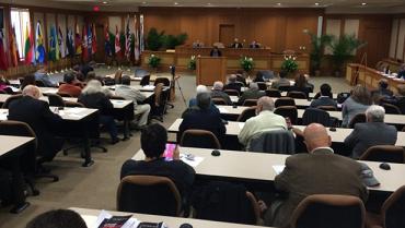 Aula Magna de la Facultad de Derecho de la Univ. Int. de la Florida